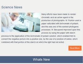 #8 untuk Mailchimp/monthly newsletter template oleh adnanbahrian