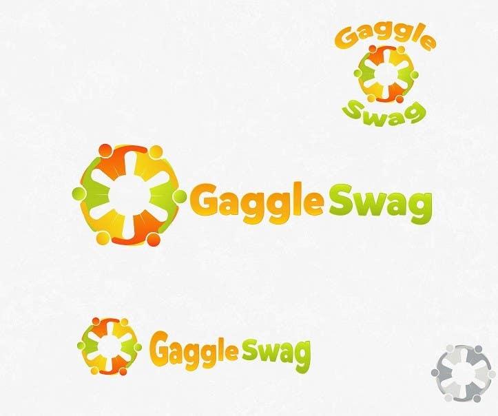 Kilpailutyö #                                        4                                      kilpailussa                                         Logo for GaggleSwag