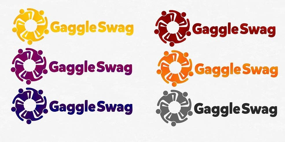 Kilpailutyö #                                        6                                      kilpailussa                                         Logo for GaggleSwag