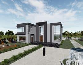 #117 untuk Design exterior elevation for residential villa oleh roroARCHI