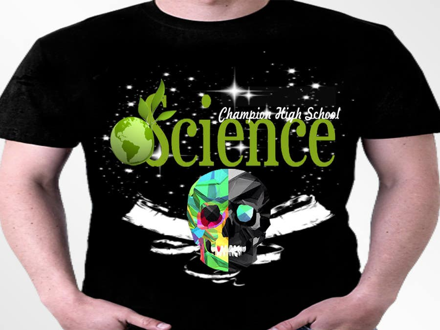 Contest Entry #22 for Design a science themed T-shirt for a Science Olympiad team.