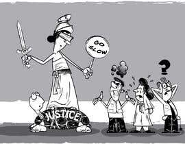 #7 for Justice Delayed is Justice Denied - cartoon / caricature af mapacce