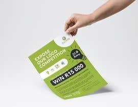 #22 for A5 print design for competition af lihdaf