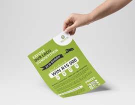 #71 for A5 print design for competition af lihdaf