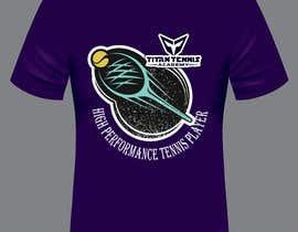 Nro 32 kilpailuun Design an athletic performance shirt for a tennis academy. käyttäjältä reajulislamremon