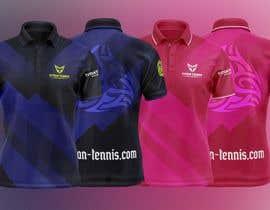 Nro 20 kilpailuun Design an athletic performance shirt for a tennis academy. käyttäjältä allejq99