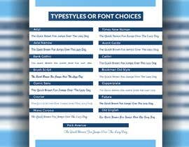 #43 cho Font/Type Style  Choice Graphic/Slide for Website bởi rananabid9