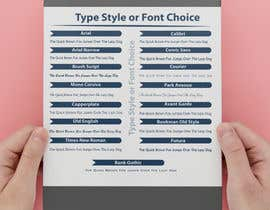 #34 cho Font/Type Style  Choice Graphic/Slide for Website bởi marufkhan955