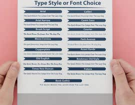 #39 cho Font/Type Style  Choice Graphic/Slide for Website bởi marufkhan955