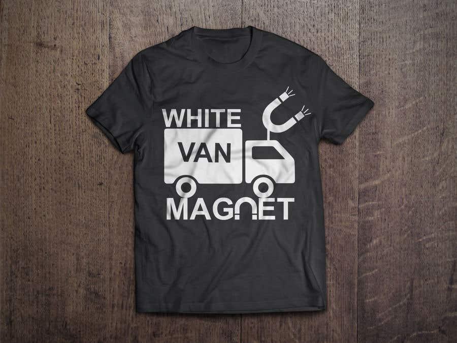 Bài tham dự cuộc thi #                                        18                                      cho                                         Design me a tshirt - White Van Magnet