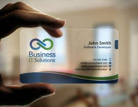 #14 untuk Design some Business Cards for Business IT Solutions oleh mdreyad