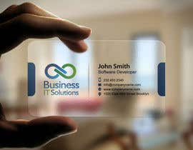mdreyad tarafından Design some Business Cards for Business IT Solutions için no 15
