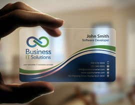 #26 untuk Design some Business Cards for Business IT Solutions oleh mdreyad