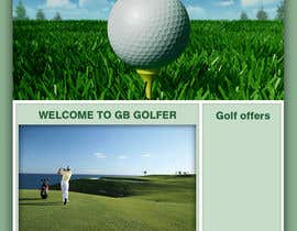 nº 3 pour Wordpress Theme Design for GB Golfer par darshanshah92