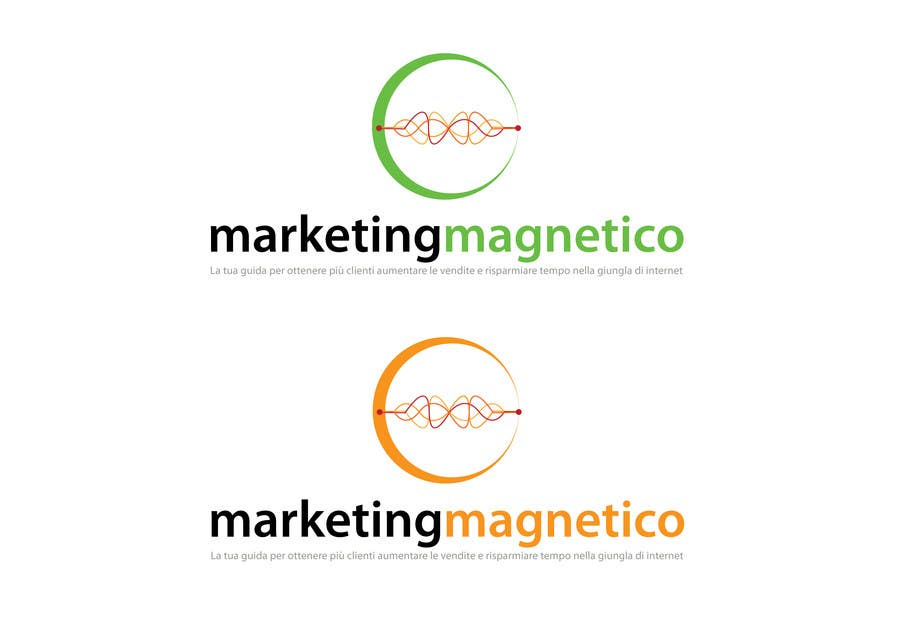 #86 for Logo Design for Marketing Magnetico by branislavad