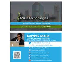 #2 untuk Looking for professional business card oleh samraj7147sl