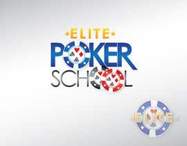 #34 untuk Logo Design for ELITE POKER SCHOOL oleh KandCompany