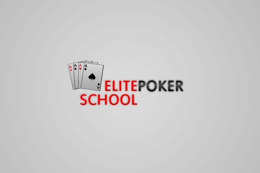 Contest Entry #                                        5                                      for                                         Logo Design for ELITE POKER SCHOOL