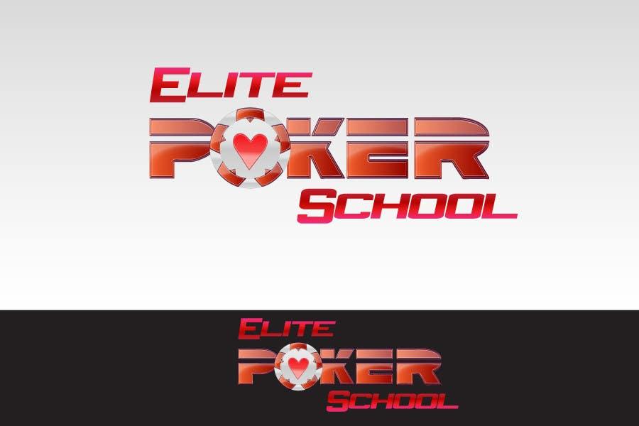 Contest Entry #                                        102                                      for                                         Logo Design for ELITE POKER SCHOOL