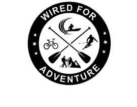 #26 untuk Masthead and logo design for Wired For Adventure oleh flyhy