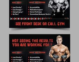 #41 untuk Personal Training Posters oleh moslehu13