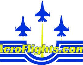 #8 for Logo for Aerobatic Flights Web Site (AcroFlights.com) by mgalonski24