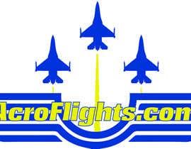 #8 pentru Logo for Aerobatic Flights Web Site (AcroFlights.com) de către mgalonski24