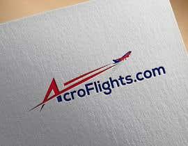 #3 untuk Logo for Aerobatic Flights Web Site (AcroFlights.com) oleh apuc06