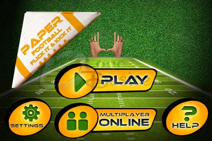 #133 para Graphic Design - Give our Paper Football Game Menus a NEW LOOK! por logodesire