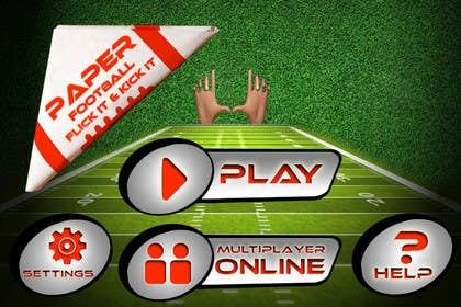 #135 untuk Graphic Design - Give our Paper Football Game Menus a NEW LOOK! oleh logodesire