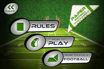Contest Entry #137 for Graphic Design - Give our Paper Football Game Menus a NEW LOOK!