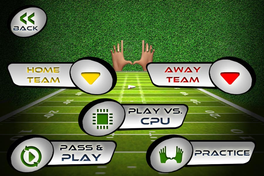#146 for Graphic Design - Give our Paper Football Game Menus a NEW LOOK! by logodesire