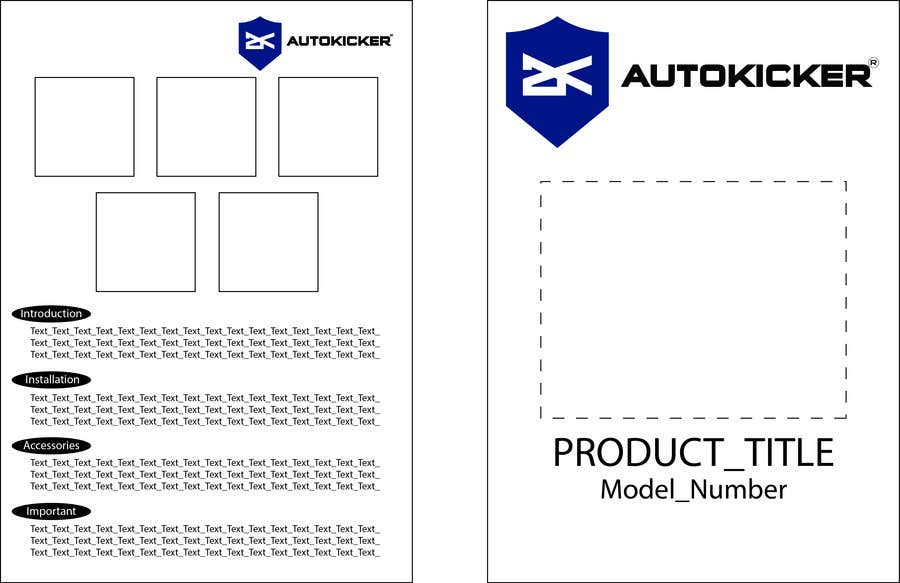 Penyertaan Peraduan #7 untuk A5 Template 2 sided for instructions (Sample attached)