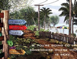 "#8 for Illustrate Something for the quote: ""If you're going to travel, go somewhere where your accent is sexy."" by bentley4u"