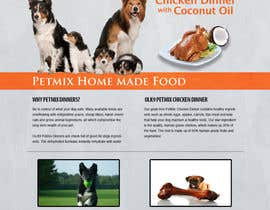 smshahinhossen tarafından Build a Word Press Site for All Natural Dog Food Company için no 18