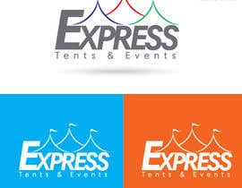 #112 for Design a Logo for 'Express Tents & Events' by puaarvin