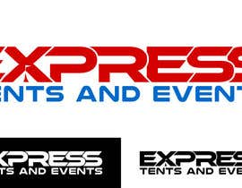 #103 for Design a Logo for 'Express Tents & Events' by cbarberiu