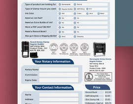 #116 for Design and Easy to Use Order Form / Flyer by marufkhan955