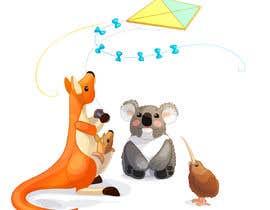 #34 untuk Create animated Australian animal characters oleh xoeluiz