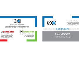 #31 para Business Card Design for Electronics/Technology Store por gokceoglu