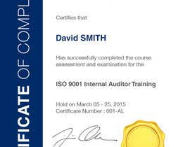 #27 for I need some Graphic Design for training certificate by Miuna