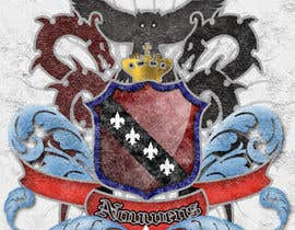 #13 untuk Illustration Design for Coat of arms oleh CanisMagus