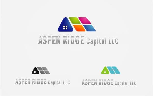 """Intrarea #41 pentru concursul """"Design a Logo for Aspen Ridge Capital LLC"""""""