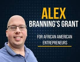 #33 for Instagram Graphic for Alex Branning's Grant For African American Entrepreneurs by FlorMonzon