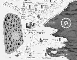 #23 dla Design a fantasy map for my novel przez sirus3002