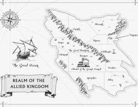 #24 para Design a fantasy map for my novel de sirus3002