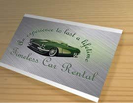 #77 para Design a Logo for Timeless Car Rental de Alaber