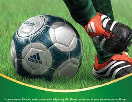 #7 for Brochure Design for Soccer coaching af ahmadu77
