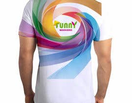 #12 for Thiết kế T-Shirt for Funny Weekend by Nmahd