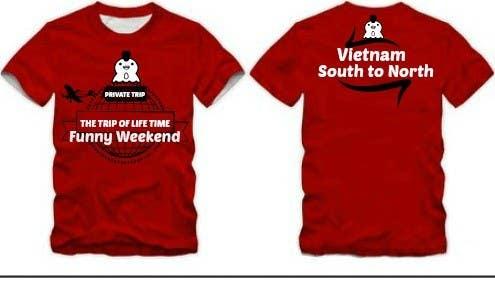 Kilpailutyö #18 kilpailussa Thiết kế T-Shirt for Funny Weekend
